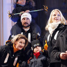 The Royal Family attends the opening of the World Skiing Championships in Oslo 23 February (Photo: Lise Åserud / Scanpix)