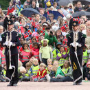 Many of the children are now planning to join the Royal Guard... (Photo: Liv Osmundsen, The Royal Court)