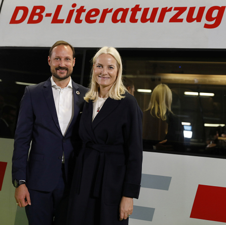 Literary train tour through Germany