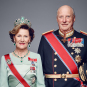 Their Majesties The King and Queen. Photo: Jørgen Gomnæs, the Royal Court