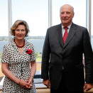 King Harald and Queen Sonja concluded their state visit to Australia in Perth. Photo: Lise Åserud / NTB scanpix