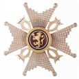 The Order of St Olav: Commander's star (Photo: Kjartan Hauglid, The Royal Court)