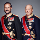 His Majesty The King and His Royal Highness The Crown Prince. Photo: Jørgen Gomnæs, the Royal Court.