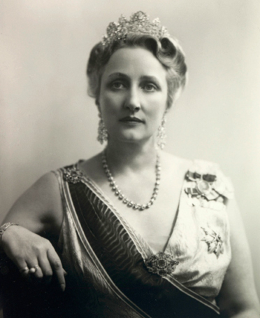 Crown Princess Märtha 1949  (Photo: Ingeborg Ljusnes, the Royal Court Archive)