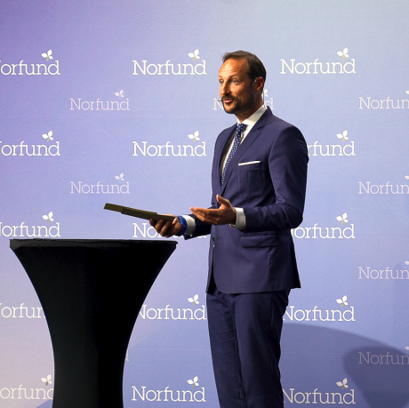 Opened the Norfund conference